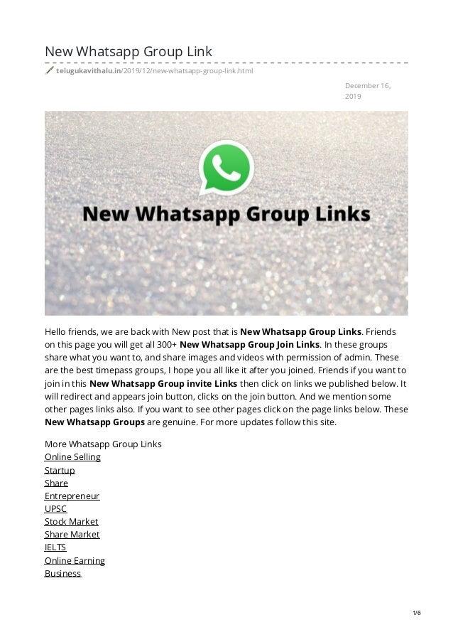 Telugukavithalu In New Whatsapp Group Link