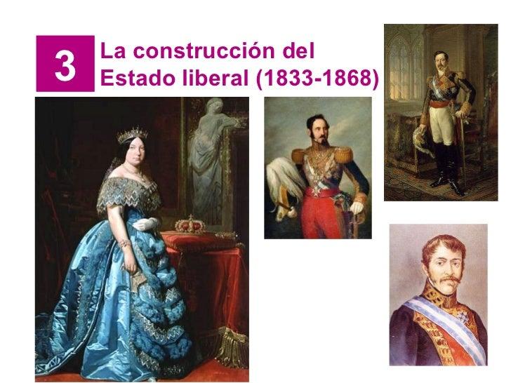 3 La construcción del Estado liberal (1833-1868)