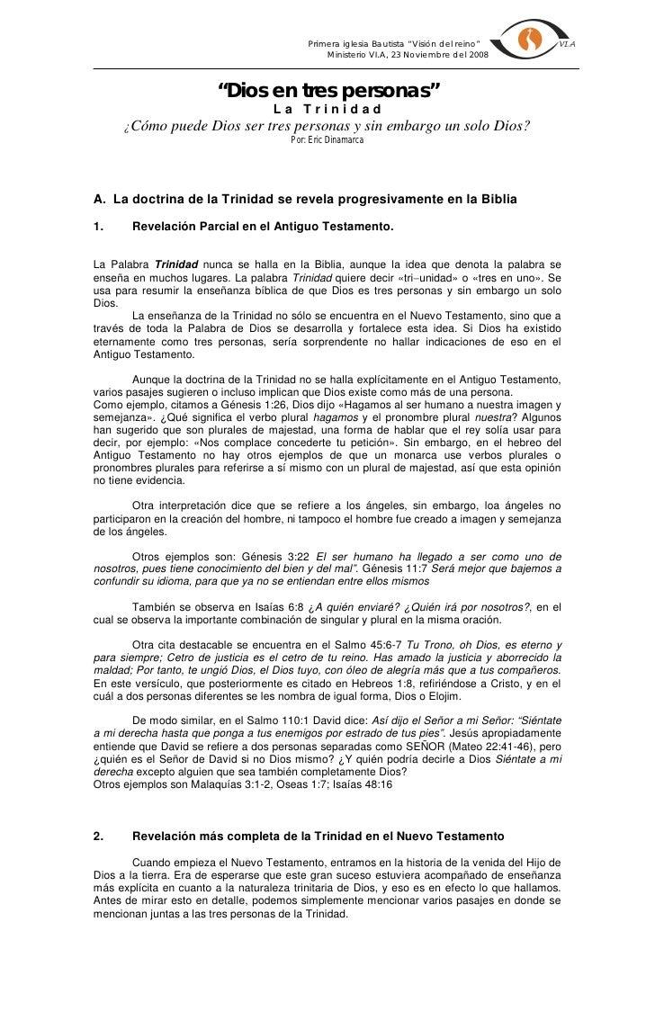 """Primera iglesia Bautista """"Visión del reino""""                                                 Ministerio VI.A, 23 Noviembre ..."""