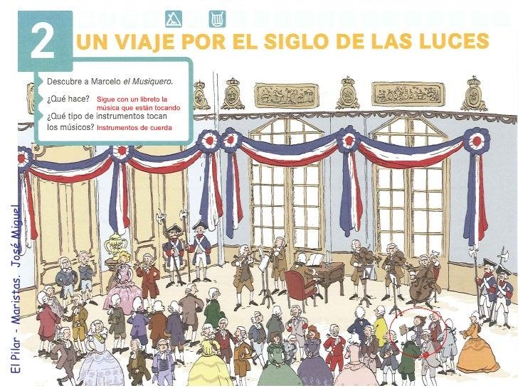 Sigue con un libreto la música que están tocando Instrumentos de cuerda El Pilar - Maristas.  José Miguel