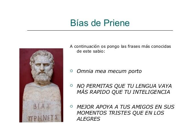 Tema 2 El Origen De La Filosofía Los Siete Sabios Griegos
