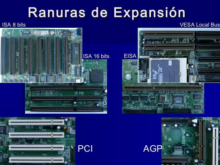 Ranuras de ExpansiónISA 8 bits                                     VESA Local Bus                    ISA 16 bits   EISA   ...