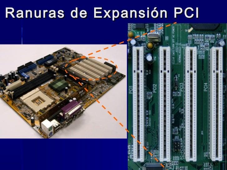 Ranuras de Expansión PCI