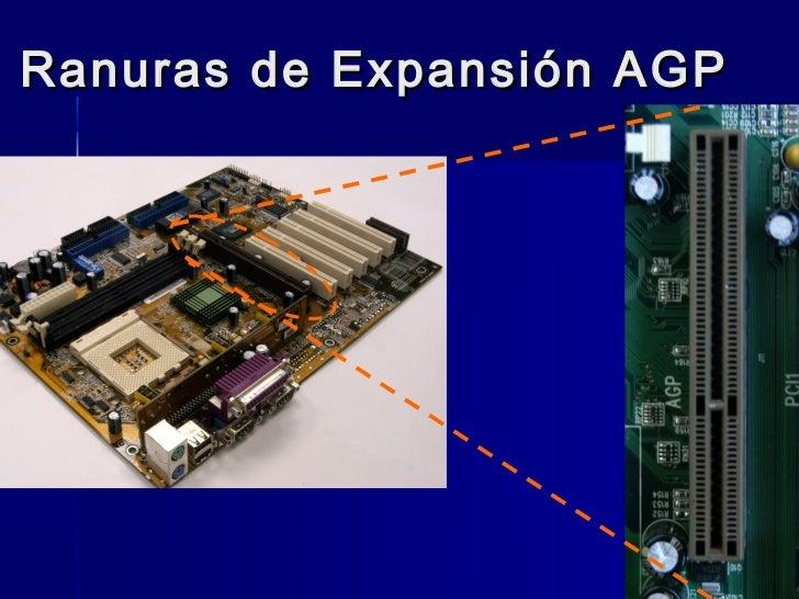 Ranuras de Expansión AGP