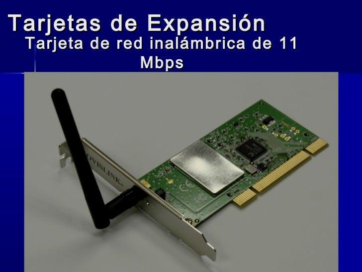 Tarjetas de Expansión Tarjeta de red inalámbrica de 11               Mbps