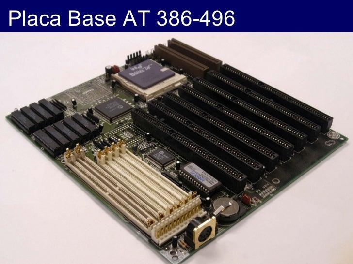 Placa Base AT 386-496