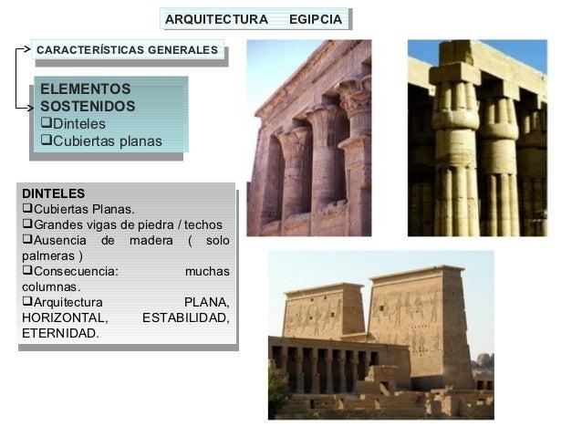 Tema 02 1 el desarrollo art stico en egipto el templo y - Dinteles de madera ...