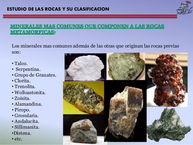 Tema 03 mg estudio rocas for Marmol clasificacion