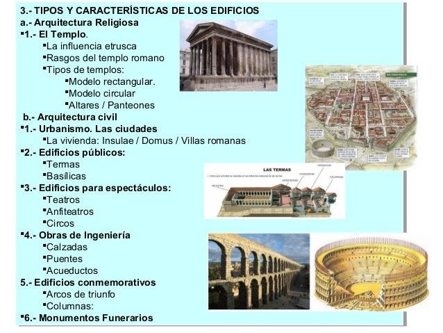 Tema 04 Arte Romano Esquema Arquitectura Curso 2014 15 2