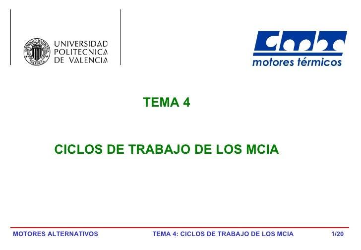 /20 TEMA 4 CICLOS DE TRABAJO DE LOS MCIA