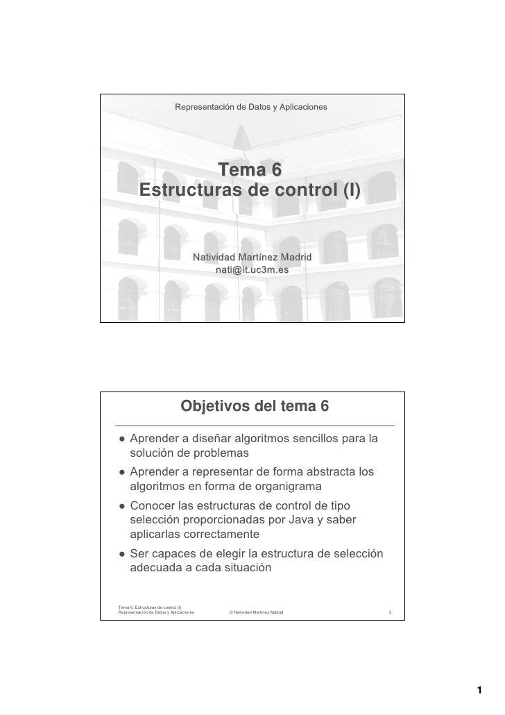 Representación de Datos y Aplicaciones                            Representació                  Tema 6          Estructur...