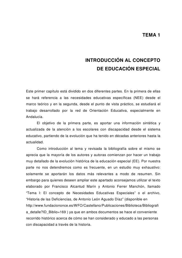 TEMA 1                                     INTRODUCCIÓN AL CONCEPTO                                            DE EDUCACIÓ...