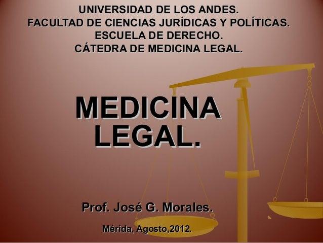 tema 1 medicina legal