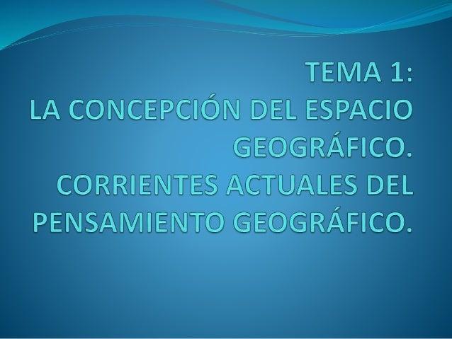 Esquema general INTRODUCCIÓN I. La concepción del espacio geográfico. 1. Concepto. 2. Objeto. 3. Relación con ciencias afi...