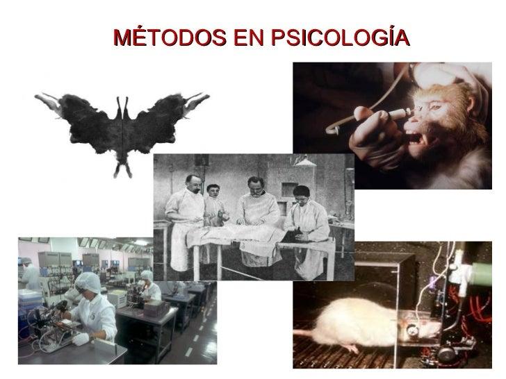 MÉTODOS EN PSICOLOGÍA