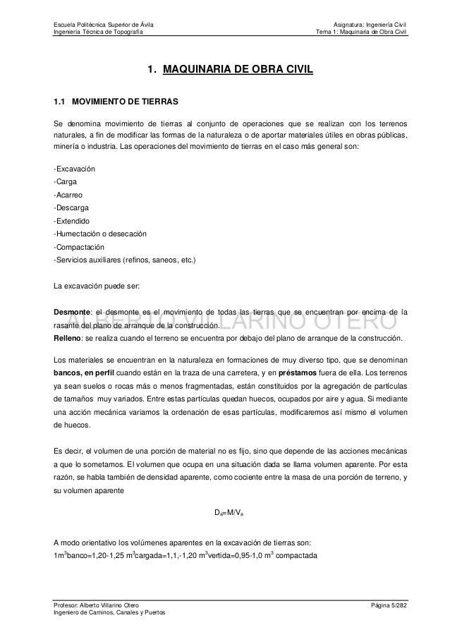 Escuela Politécnica Superior de Ávila                                               Asignatura: Ingeniería CivilIngeniería...