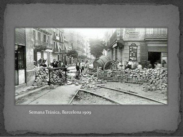 Semana Tráxica, Barcelona 1909