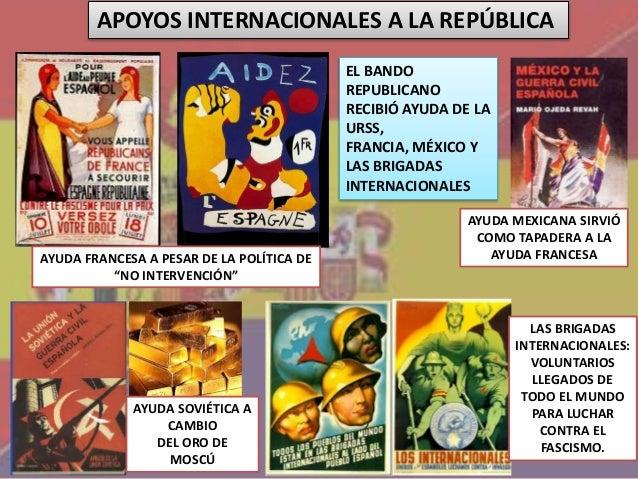 Resultado de imagen de intervencion internacional en la guerra civil española