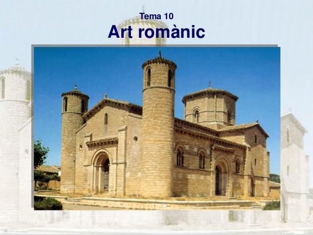 Tema 10  Art romànic