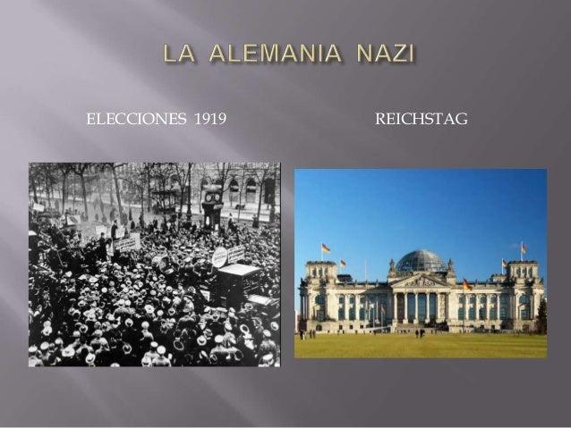  la crisis de la República y el ascenso del nazismo - caída República Weimar + toma poder nazis = gran depresión 1929 - 1...