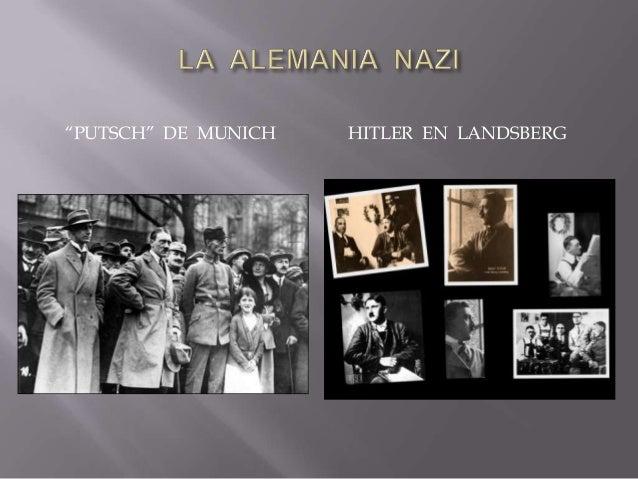 """ la política nazi de adoctrinamiento y propaganda - campaña masiva : culto al """"führer"""" como ser infalible - control educa..."""