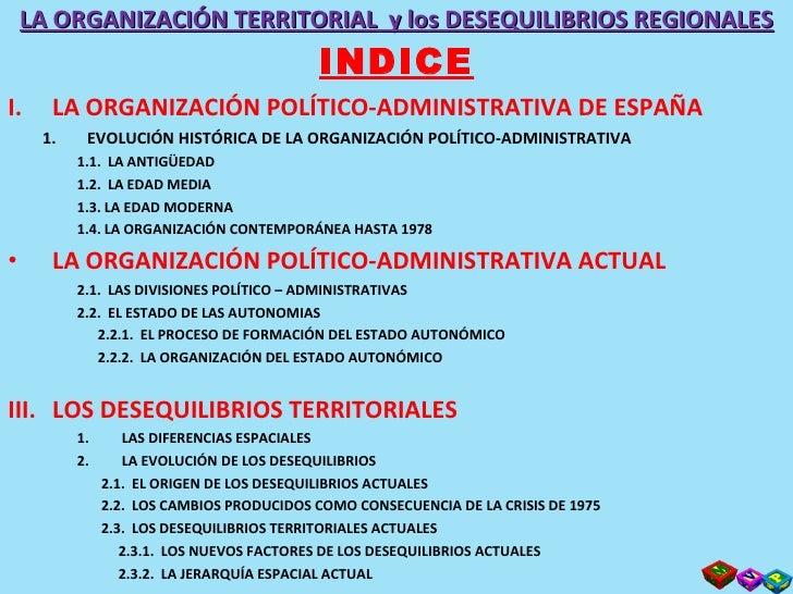 Tema 10  La OrganizacióN Territorial Y Slide 3