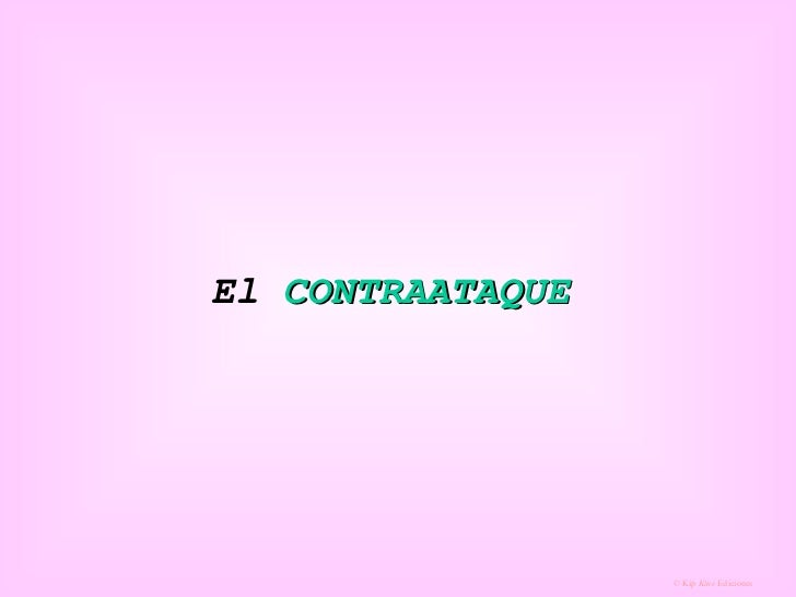 El  CONTRAATAQUE