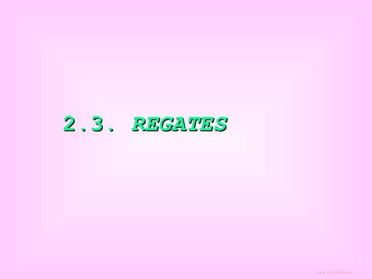 2.3.  REGATES