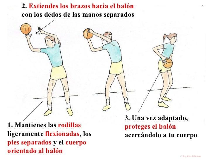 1. Mantienes las  rodillas  ligeramente  flexionadas , los  pies separados  y el  cuerpo orientado al balón   2.  Extiende...