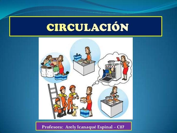 Tema 10 circulaci n - Medias para la circulacion ...