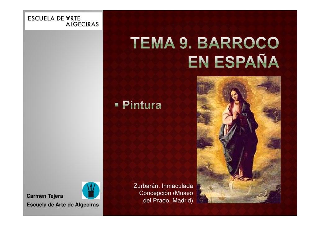 Zurbarán: InmaculadaCarmen Tejera                                 Concepción (Museo                                  del P...
