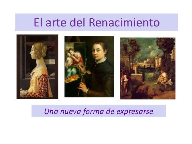 Tema 10 el arte renacentista introducción