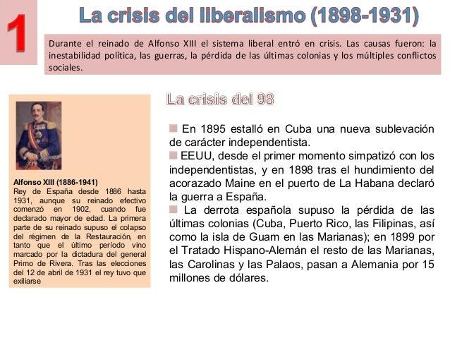 Tema 10.  España de 1902 a 1939. Slide 2