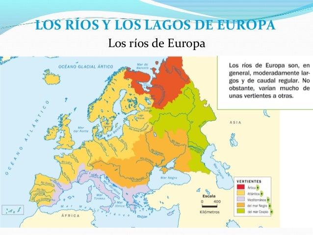 Importantes Ríos De Suiza: Tema 10 Los Paisajes De Europa Y Los De España