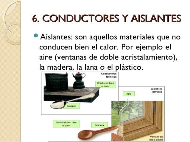 Asombroso Materiales Aislantes Del Calor Galería - Ideas para el ...