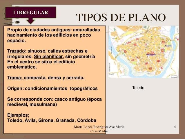Tema 11 morfolog a y estructura de la ciudad en espa a for Trazado sinuoso