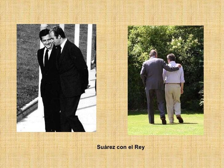 Suárez con el Rey