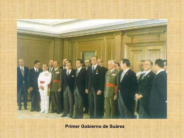 Primer Gobierno de Suárez