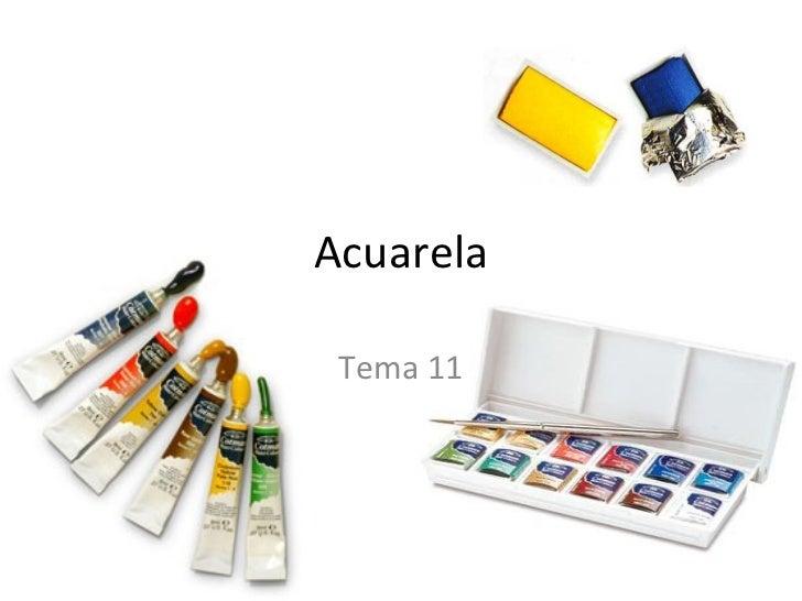 Acuarela Tema 11