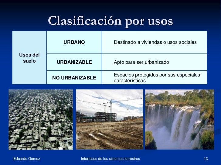 Tema11 el suelo clasificacion 2 for Suelo no urbanizable