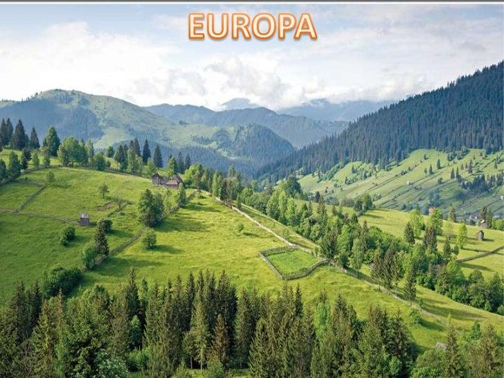 INTRODUCCIÓN    RELIEVE DE                 EUROPAVERTIENTES DE   PAÍSES DE   EUROPA        EUROPA