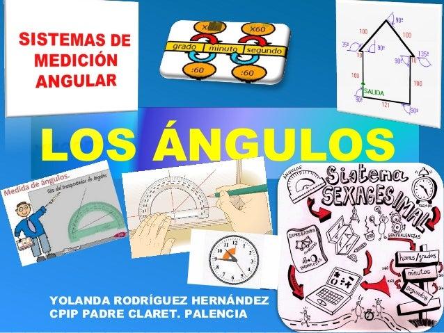 LOS ÁNGULOS YOLANDA RODRÍGUEZ HERNÁNDEZ CPIP PADRE CLARET. PALENCIA