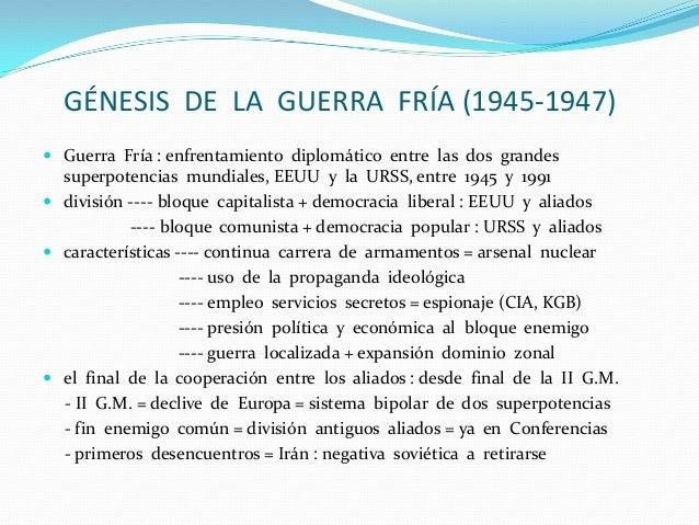 Tema 12.La  guerra  fría Slide 3