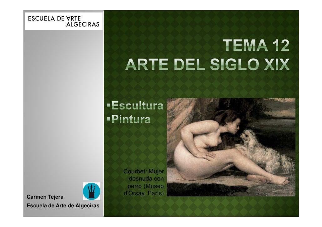 Courbet: Mujer                                 desnuda con                                perro (Museo                    ...