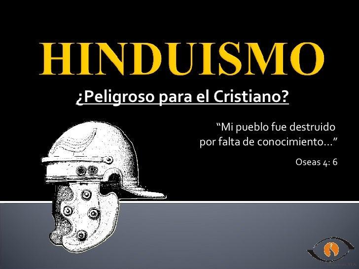 """¿Peligroso para el Cristiano? """" Mi pueblo fue destruido  por falta de conocimiento…"""" Oseas 4: 6"""