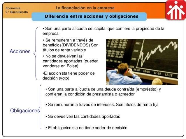 Economía 2.º Bachillerato Análisis financiero, económico y socialLa financiación en la empresaEconomía 2.º Bachillerato Di...