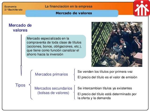 Economía 2.º Bachillerato Análisis financiero, económico y socialLa financiación en la empresaEconomía 2.º Bachillerato Me...