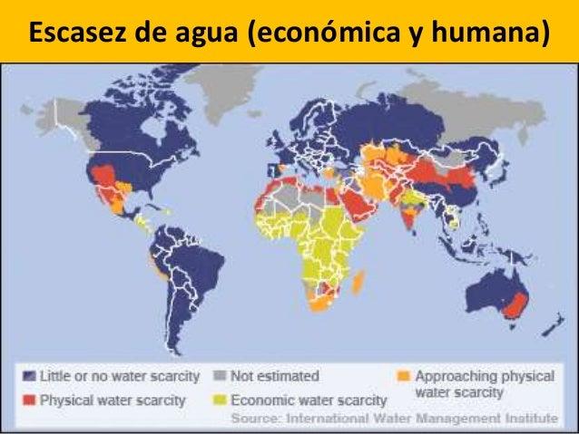 Escasez de agua (económica y humana)