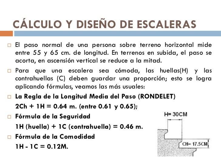 Tema 14 escaleras 1 for Como calcular una escalera