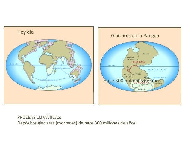 Placas separándoseObserva comoSe rompierony separaron estoscontinentes
